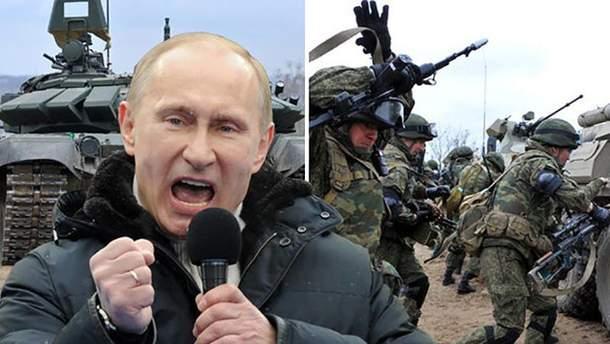 Владимир Путин готовится вторгнуться не только в Украину, Молдову и Беларусь, но и страны Балтии