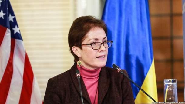 """Марі Йованович: """"США підтримує оновлення ЦВК"""""""