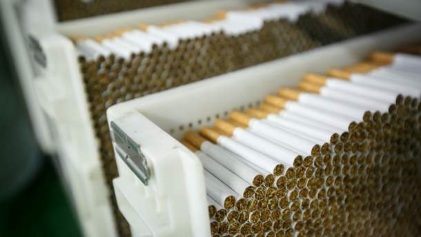 Контрабанда сигарет в Украине