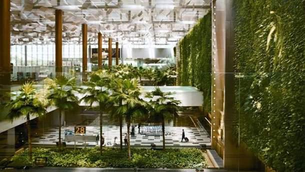 """Аеропорт """"Чангі"""" у Сингапурі"""