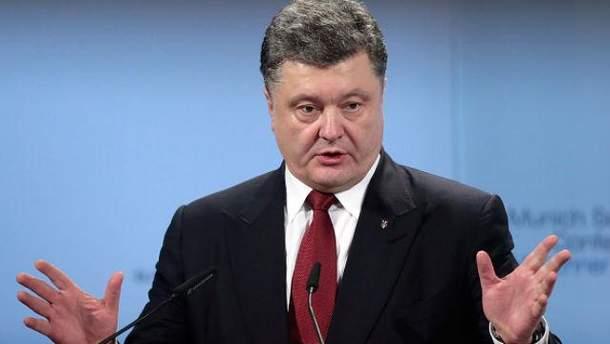 Порошенко обрадовался новым санкциям США против России