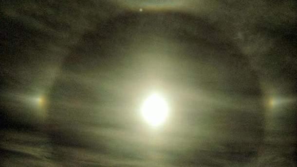 У небі над Харковом помітили рідкісне оптичне явище