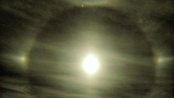 В небе над Харьковом заметили редкое оптическое явление