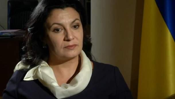 Віце-прем'єр-міністр з питань європейської та євроатлантичної інтеграції України Іванна Климпуш-Цинцадзе