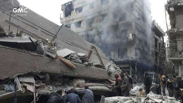 Восточная Гута в Сирии