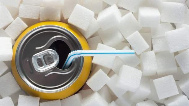 Великобританія вводить податок на цукор у безалкогольних напоях