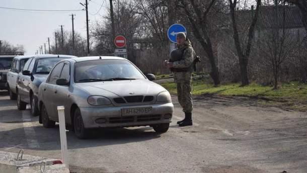 КПВВ через линию разграничения на Донбассе