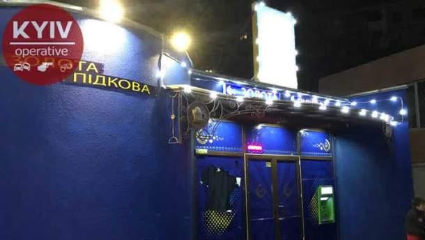 Неизвестные разгромили игорное заведение в Киеве