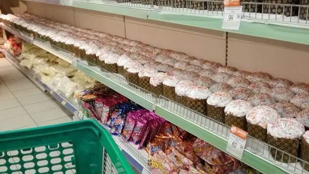 Пасхальные цены в оккупированном Крыму