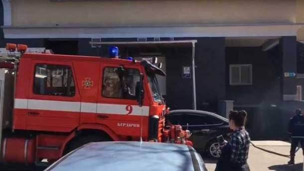 У Бердичеві людей евакуювали з ТЦ через задимлення