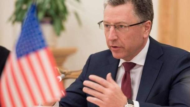 Специальный представитель Госдепартамента США по делам Украины Курт Волкер