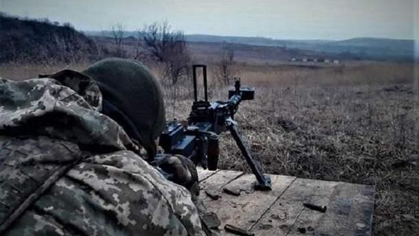 Пророссийские боевики обстреляли позиции ВСУ на Донбассе