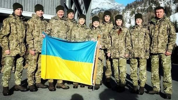Украинские биатлонисты завоевали очередные медали на чемпионате мира среди военных