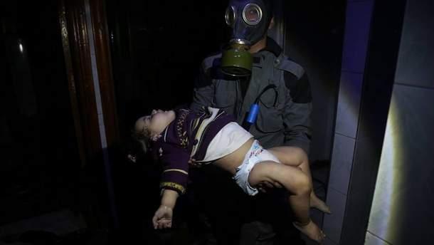 У Сирії 70 людей померли жахливою смертю через хімічну атаку: уряд Асада все заперечує