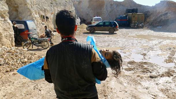 Россия заявила, что в Сирии использовалось химическое оружие