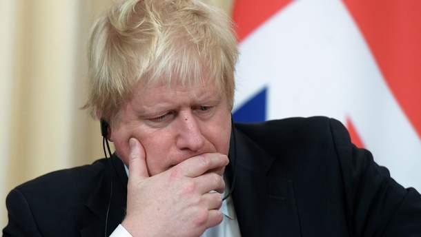 Министр иностранных дел Великобритании Борис Джонсон,