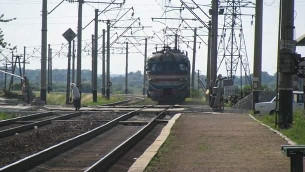 Авария на железнодорожном переезде в Крыму