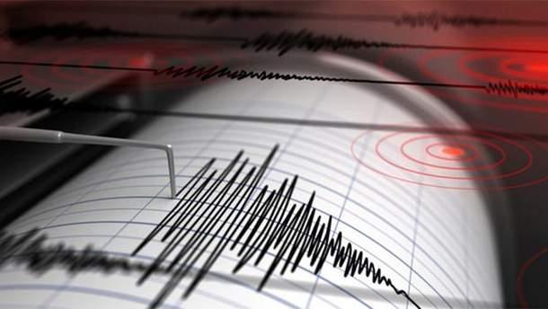 Землетрясение возле Гватемалы
