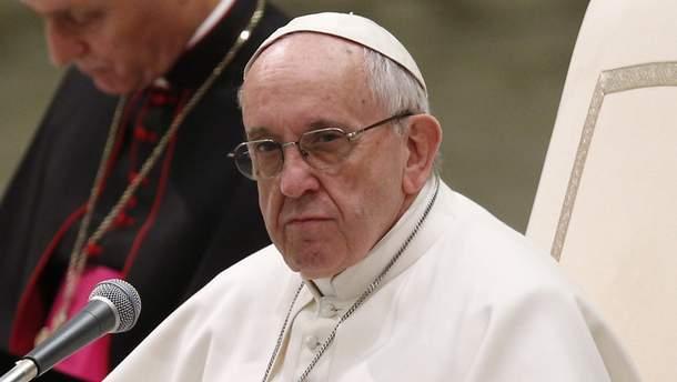Глава Католической церкви Папа Римский Франциск