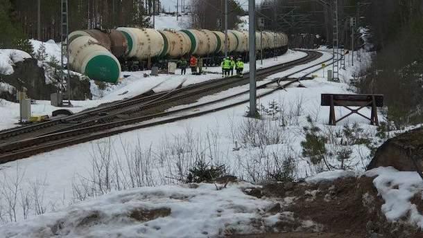 Аварія на залізниці у Фінляндії