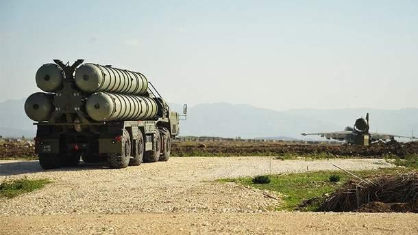 Зенитно-ракетные комплексы С-400 в Сирии
