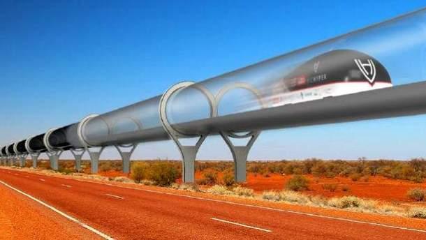 Маск спробує розігнати Hyperloop до 500 км/год