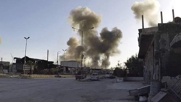 Россия обвинила Израиль в ракетном ударе по сирийской авиабазе