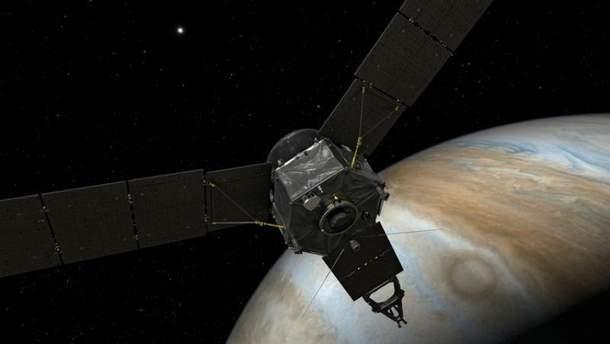 NASA показало новое фото Юпитера