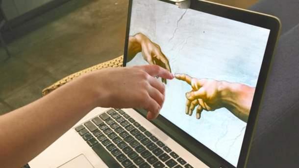 Инженеры представили легкий способ превратить обычный экран ноутбука в сенсорный