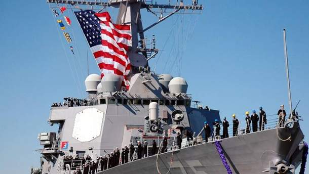 Американський есмінець USS Donald Cook
