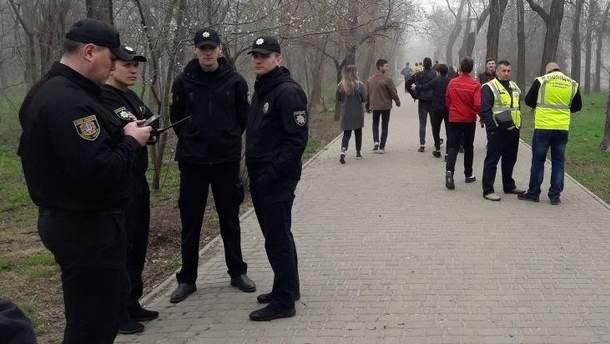 Одессу усиленно охраняют более 1500 правоохранителей