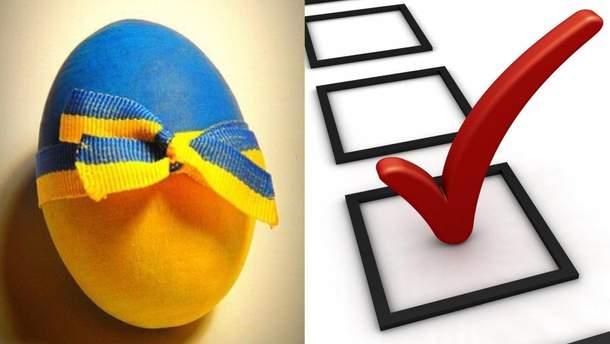 Українські політики використали Великдень для підкупу виборців