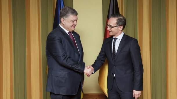 Міністр МЗС Німеччини відвідає Україну