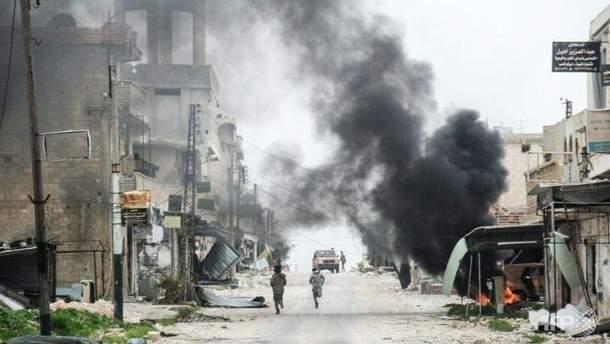 Сирию от Асада может спасти только мощная атака США