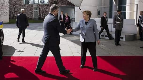 Зустріч Порошенка і Меркель 10 квітня