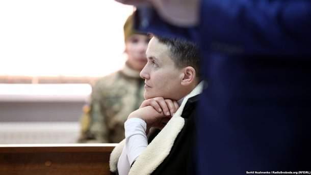 Надію Савченко не пустили на побачення із сестрою