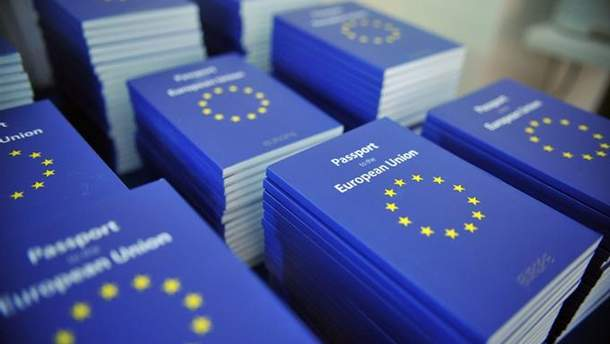 Возросло количество украинцев, которые получили гражданство ЕС