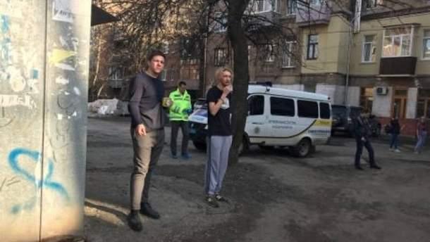 В центре Харькова – перестрелка