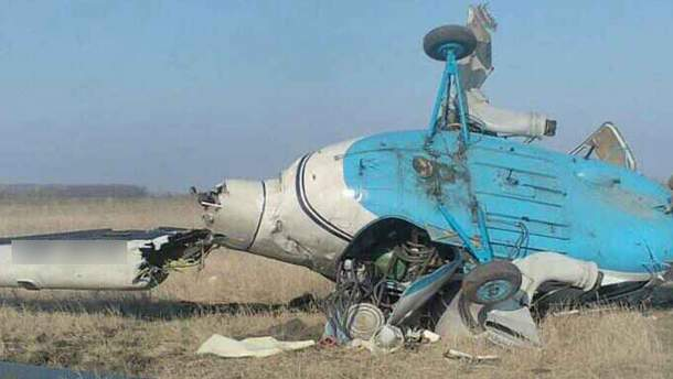 На Полтавщині розбився гелікоптер