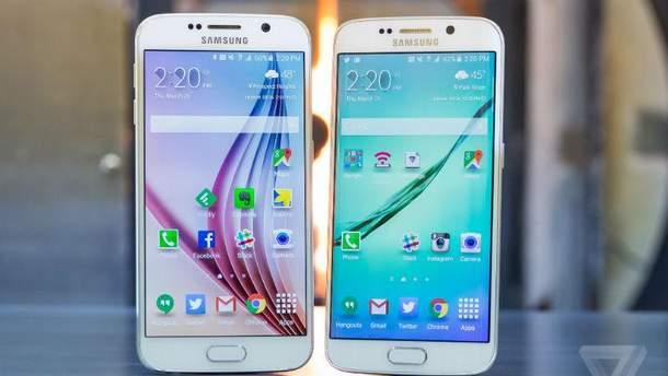 """Samsung """"кинула"""" власників  Galaxy S6 і Galaxy S6 edge"""