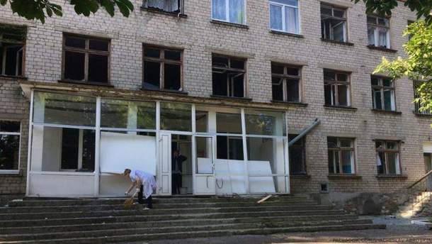 На Донбассе было обстреляно больше больниц, чем сообщает ВОЗ