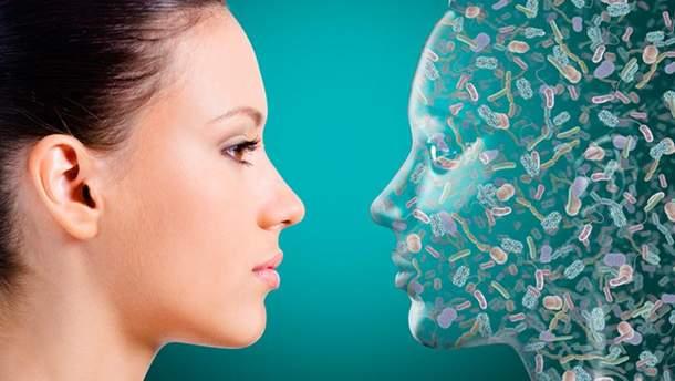Человек на 53% состоит из микробов