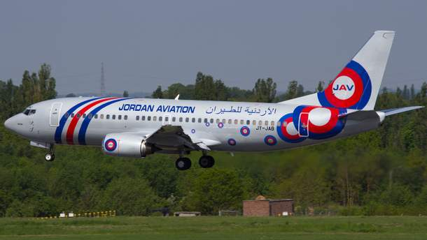 В Киев будет летать Boeing 737-300 авиакомапнии Jordan Aviation