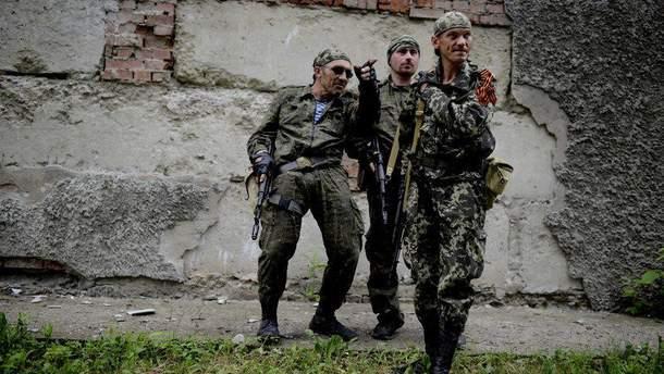 Проросійські бойовики на Донбасі