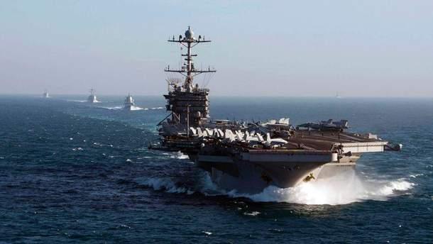 Завтра ВМС США відправлять кораблі наБлизький Схід та у Європу