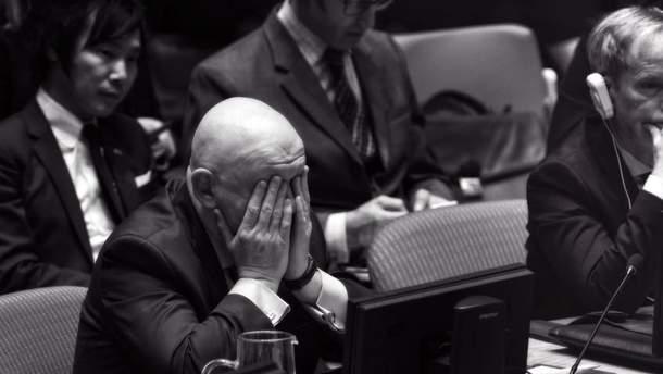 Росія в Радбезі ООН дошкуляє правом вето