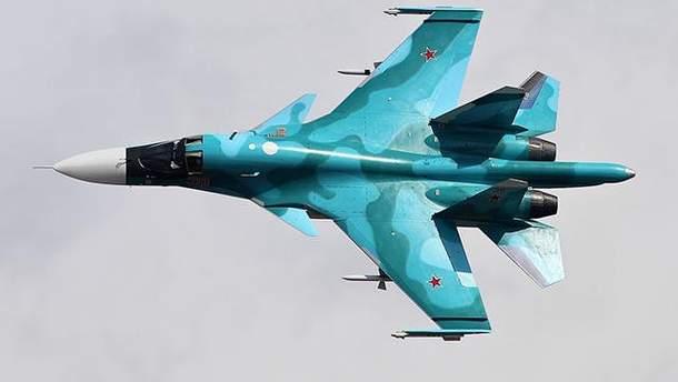 Російські Су-34 в Сирії