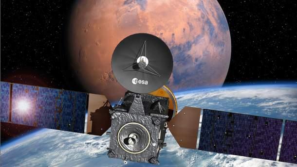 Зонд, призначений для дослідження життя на Марсі, вийшов на робочу орбіту