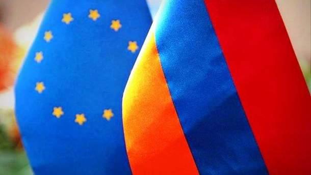 Вірменія ратифікувала Угоду про розширене партнерство з ЄС