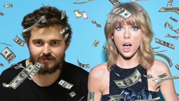 Фанат Тейлор Свіфт підкинув їй вкрадені гроші